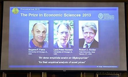 Nobel prize for economics winners