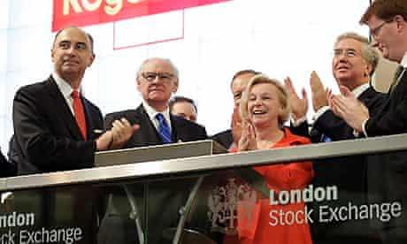 Royal Mail share trading