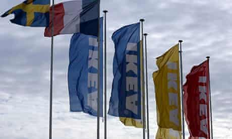 The entrance of an IKEA store in Plaisir, west of Paris