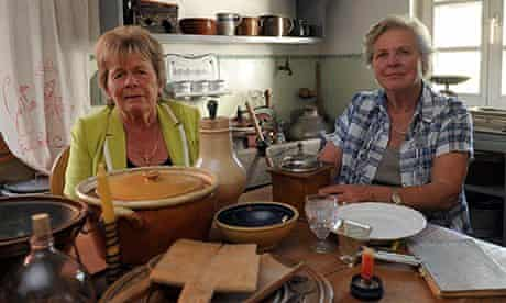 Two Swabian housewives in Germany