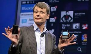 Thorsten Heins leaves BlackBerry