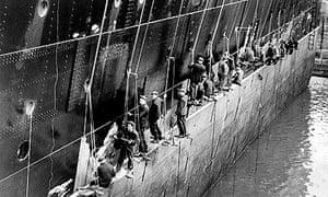 Queen Mary - UK shipbuilding industry