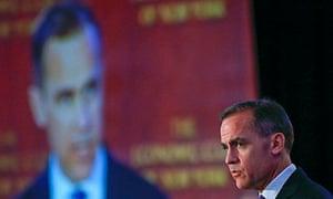 Bank of England governor Mark Carney