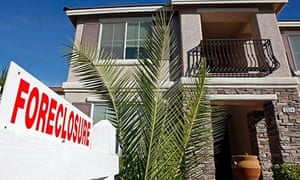A foreclosed home in Las Vegas, 2008
