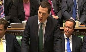 Chancellor George Osborne delivers his autumn statement