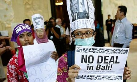 WTO in Bali