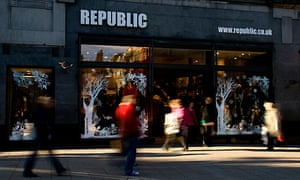 Republic - UK retail sales