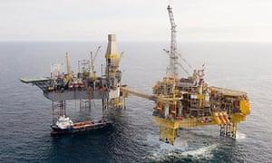 Elgin North Sea gas platform