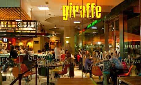 Giraffe restaurant