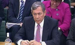 Former Lloyds chief executive Eric Daniels