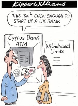 Kipper Williams on Cyprus bailout