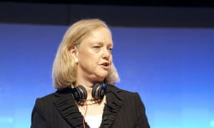 Meg Whitman, CEO of Hewlett-Packard