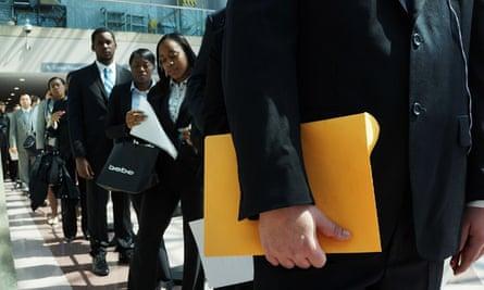 Jobs fair in New York