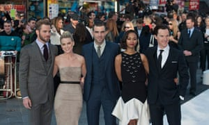Cast of Star Trek Into Darkness at The Empire cinema in Leicester Square, May 2013