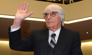 Bernie Ecclestone, CEO and president of F1's governing body