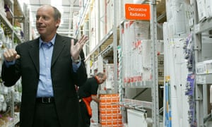 Ian Cheshire, chief executive of Kingfisher, which owns B&Q