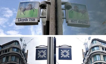 RBS and Lloyds