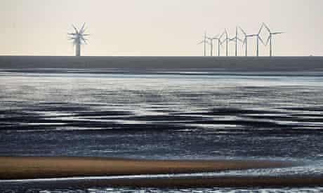 Burbo Bank offshore windfarm