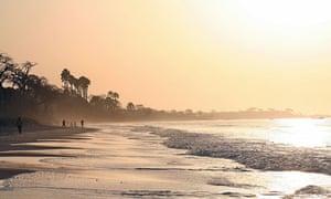 Gambian beach