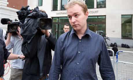Former trader Tom Hayes leaves court