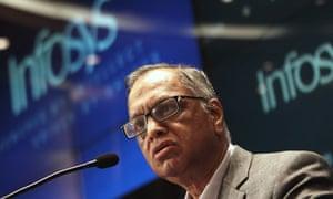 Narayana Murthy, founder of Infosys
