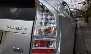 Toyota Prius brake fault