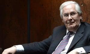 Mervyn King - Bank of England governor