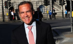 Mark Carney's first day at Bank of England