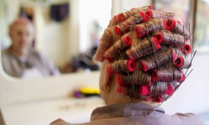 Traditional hairdressers in England