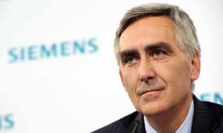 (Siemens has announced that Peter Loescher will be replaced as president and chief executive officer