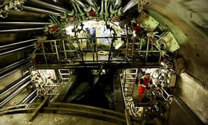 Construction of the Crossrail tunnel