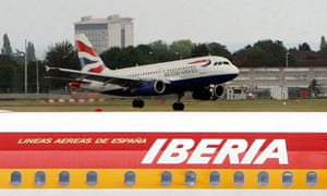 Iberia/BA planes
