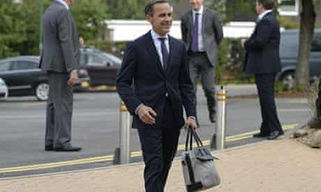 Bank Of England governor Mark Carney's first public speech
