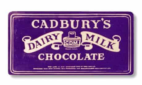 Cadbury's chocolate bar from 1923