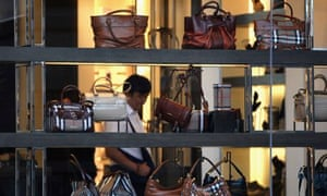 cf5b5aa8d983 Online sales and in-store iPads give Burberry a Christmas boost ...