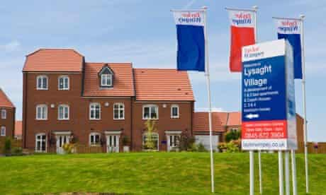 Houses being built by Taylor Wimpey