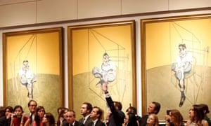 Christie's New York auction for the 1969 painting by Francis Bacon