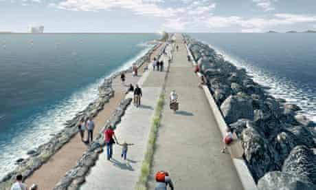 Swansea Bay tidal lagoon project