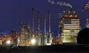 BP refinery in Carson, California