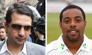 Mazhar Majeed and the former Essex player Mervyn Westfield
