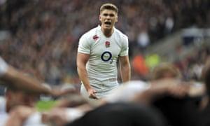 England's fly-half Owen Farrell