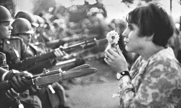 That S Me In The Picture Jan Rose Kasmir At An Anti Vietnam War Rally At The Pentagon In 1967 Art And Design The Guardian