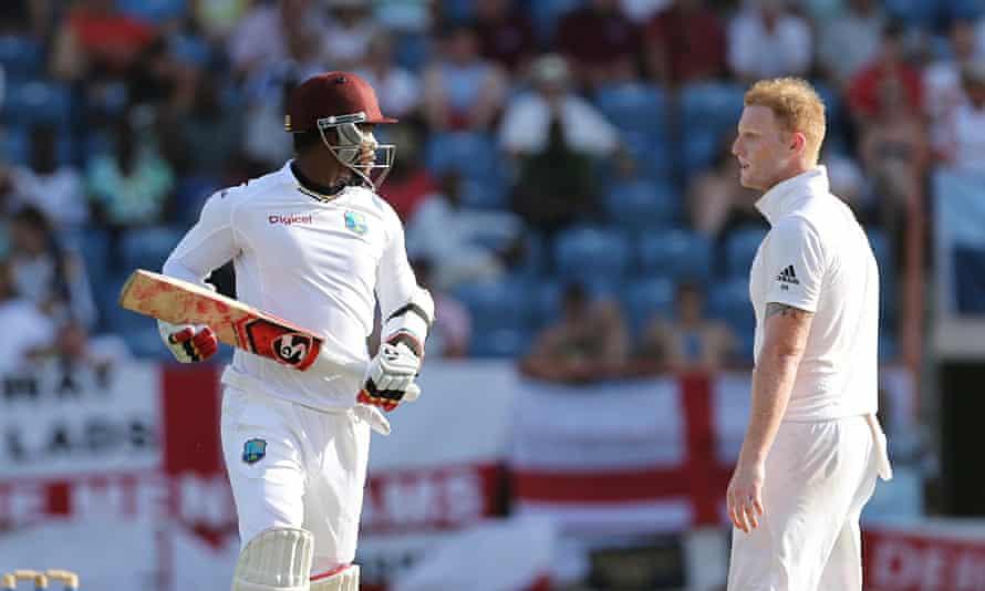 Marlon Samuels West Indies Ben Stokes England