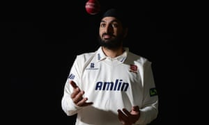 Monty Panesar of Essex and England