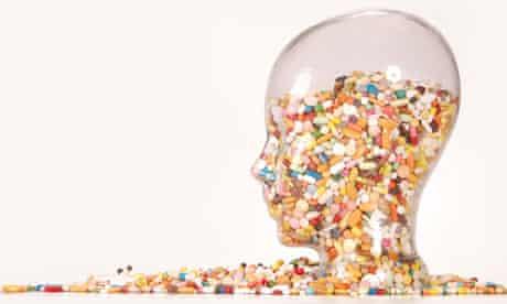pills head