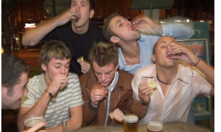 Students drinking