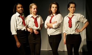"""""""She"""" from the BA Applied Performance at Birmingham City University."""