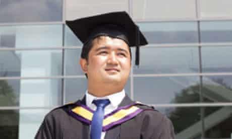 Nepalese graduate