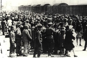 Holocaust Memorial Day: Arrival and selection at the ramp at Auschwitz