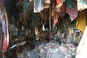 Holocaust Memorial Day: The clothes of people killed during the genocide in Rwanda